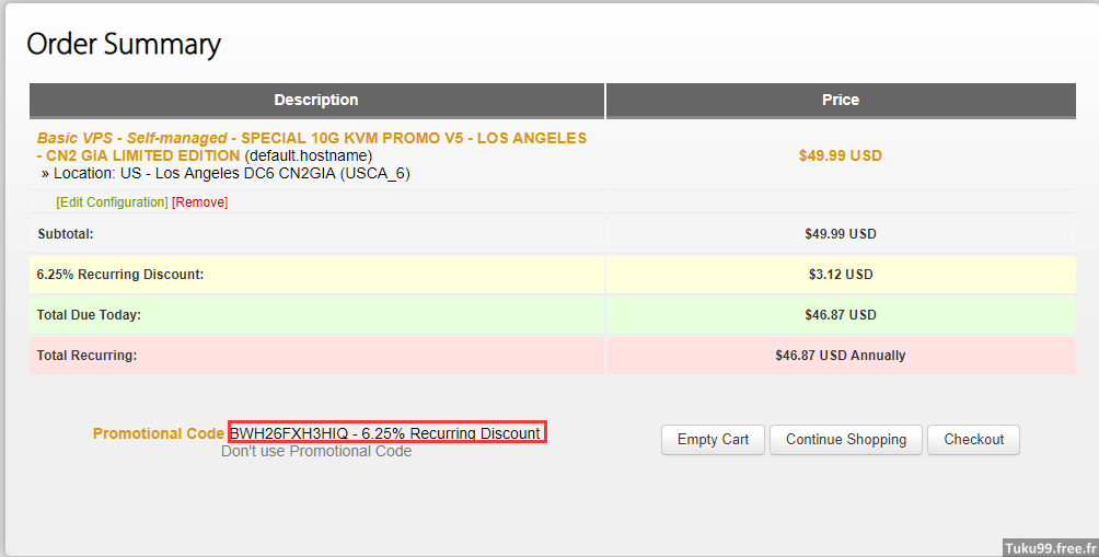 瓦工 DC6 CN2 GIA-E 限量方案上架!49.99$/年(如果可以,请远离)